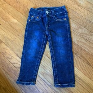TRUE RELIGION Skinny Toddler Jeans Unisex Sz18 mos